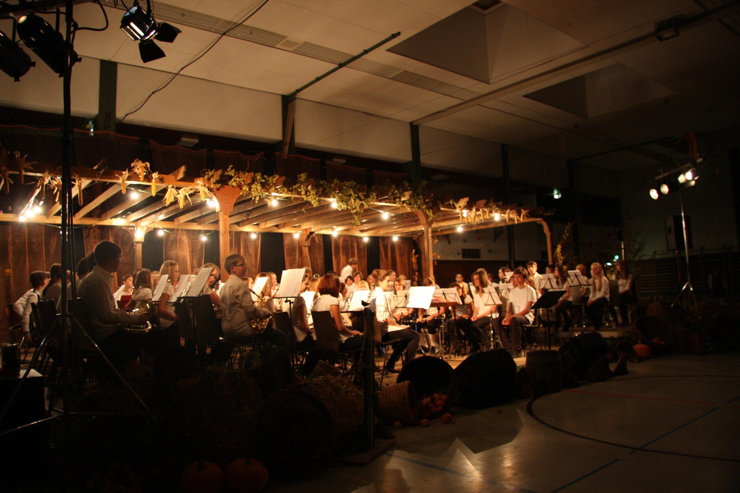 Interpretenkarusell mit dem MV Stammheim